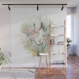 Flora and fauna Wall Mural