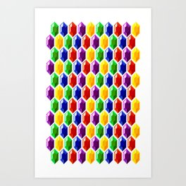 Hyrule Rupees x6072 Art Print