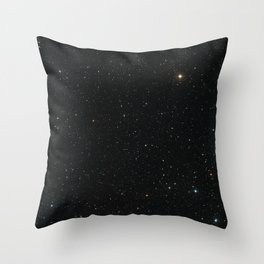 Hubble Space Telescope - Ground-Based View of J2150−0551 Region Throw Pillow