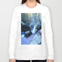 fairies Long Sleeve T-shirts featuring Where Fairies Live  by Whimsy Romance & Fun