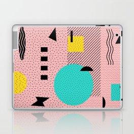 Hello Memphis Peach Berry Laptop & iPad Skin
