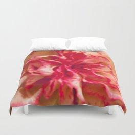 Pink Flower Close-up Duvet Cover