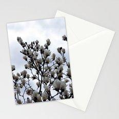 magnolia kobus Stationery Cards