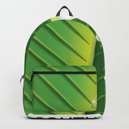 South America Tree Frog vacation poster, Backpack