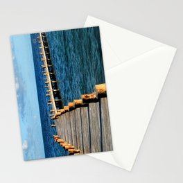 Docking In (Mexico) Stationery Cards