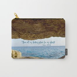 Psalms Hiding Place Bible Verse Carry-All Pouch