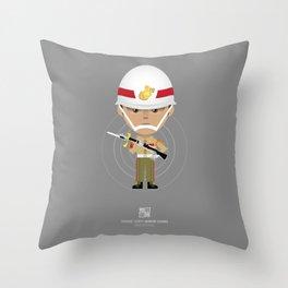Honor Guard - ZQ Drill Throw Pillow