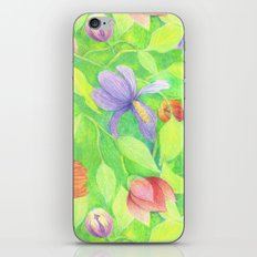 Crayon Love Springtime iPhone & iPod Skin