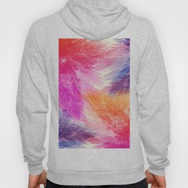 Abstact palm leaves 216 Hoody