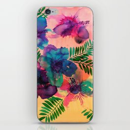 Skye Floral iPhone Skin