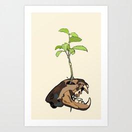 Catnip Art Print