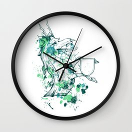 Herald - Dragon Shield Wall Clock