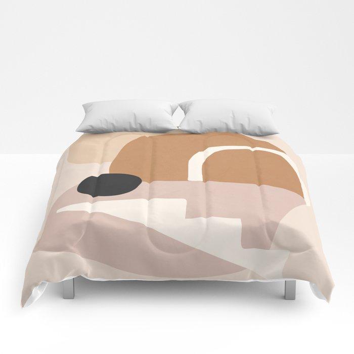 abstract minimal 24 Comforters
