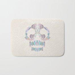 Aurora Quartz Skull Bath Mat