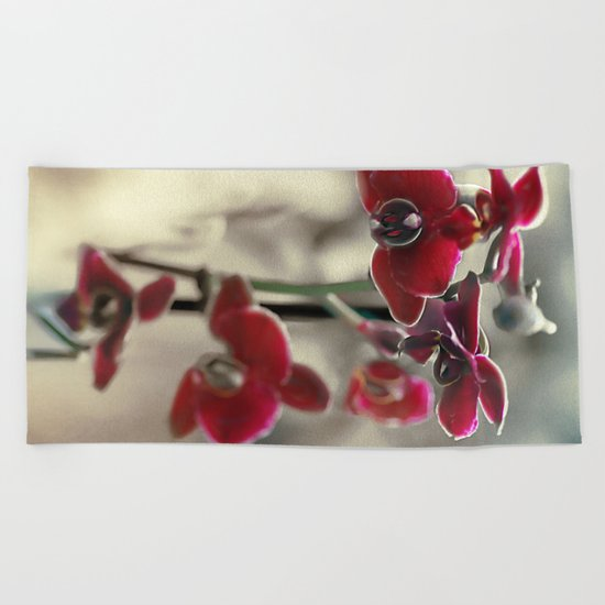 The mystery of orchid(11) Beach Towel