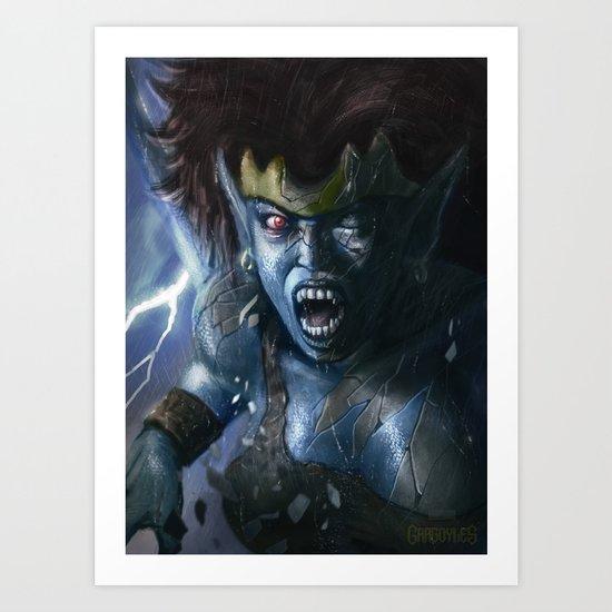 Demona Art Print