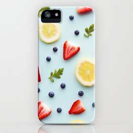 Strawberry Lemonade iPhone Case