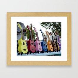 Play Some Rainbow! Framed Art Print
