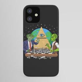 Alien Illuminati Conspiracy iPhone Case