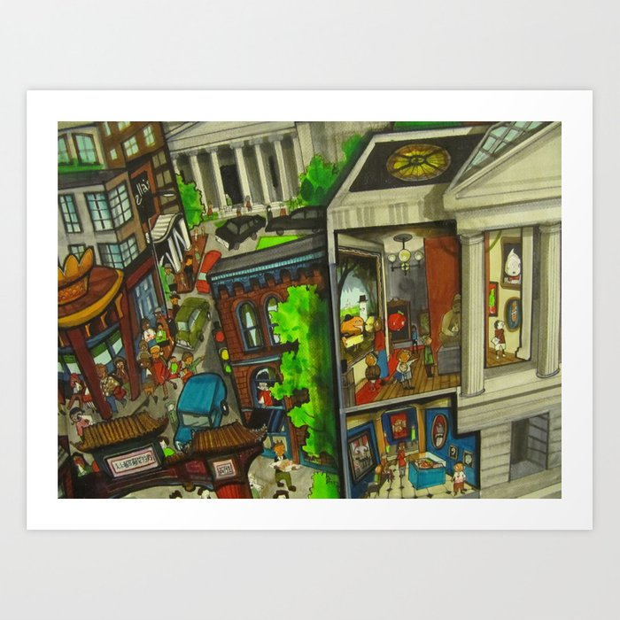 Gallery Place - DC 2011 Art Print