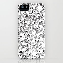 All-Over Skulls iPhone Case