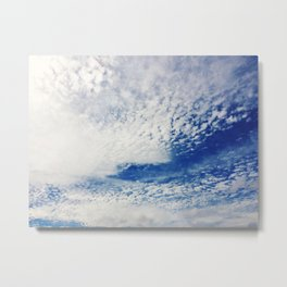 CAROLINA BLUE Metal Print