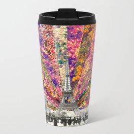 Vintage Paris Metal Travel Mug
