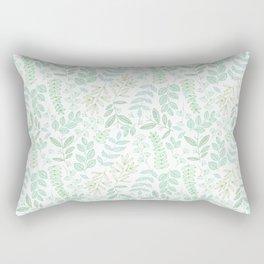For the love of green Rectangular Pillow