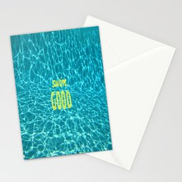 SWIM GOOD Stationery Cards