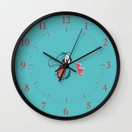 Totodile Wall Clock