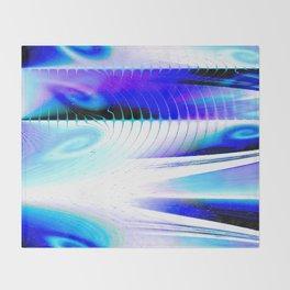 Flow or Crash Throw Blanket