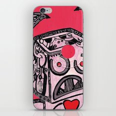 Barry Hole in The Head iPhone & iPod Skin