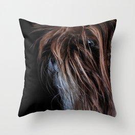 Chewie Dog Throw Pillow
