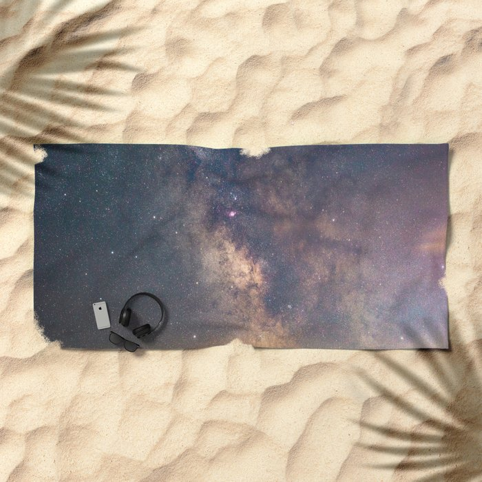 Sagittarius and the Galactic core Beach Towel