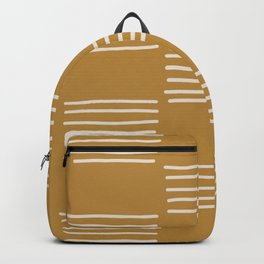 hatches –saffron Backpack