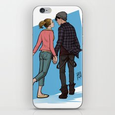Bughead holding hands iPhone & iPod Skin