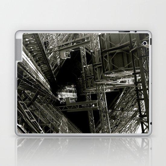 Eiffel Guts Laptop & iPad Skin