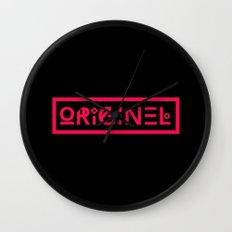 Originel rouge Wall Clock