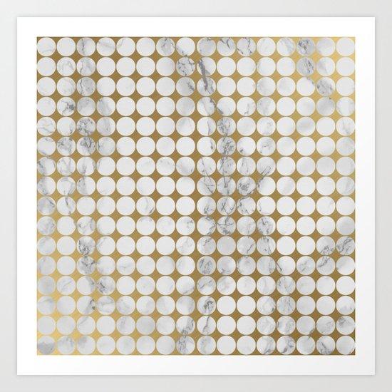 Marble #13 Art Print