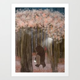 pickle wood Art Print