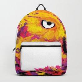 Rainbow Owl Backpack