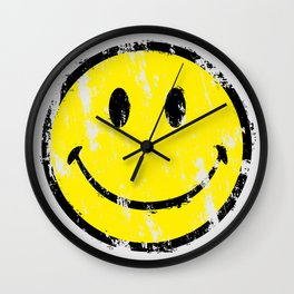 Keep on smiling Wall Clock