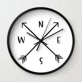 NESW Wall Clock
