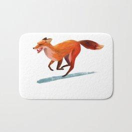 A fox Bath Mat