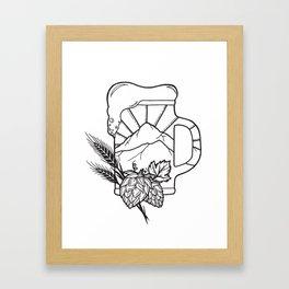 Arts & Draughts Design Framed Art Print