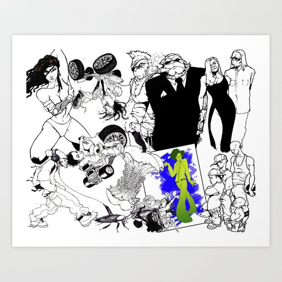 Sketchbook I Art Print