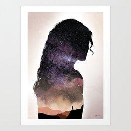 Univers Art Print