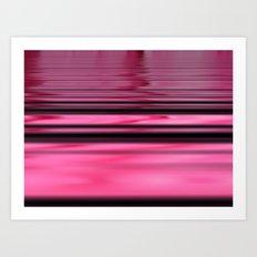 Pink Hobo ~ Abstract Art Print