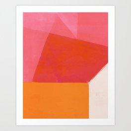 Colors Bump 1 Art Print
