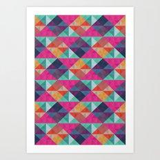 Angletron- Déscartes Art Print